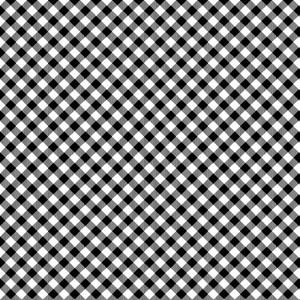 EE Schenck Chelsea's Checks HEG9700-9 Black/White
