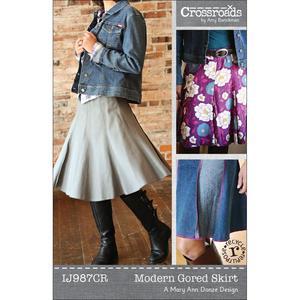 Indygo Junction IJ987CR Modern Gored Skirt Sewing Pattern