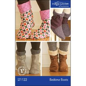 Indygo Junction IJ1122 Bedtime Boots Sewing Pattern