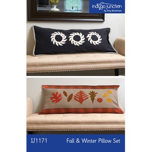 Indygo Junction IJ1171 Fall and Winter Pillow Set Sewing Pattern
