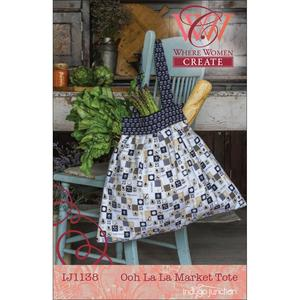 Indygo Junction IJ1138 Ooh La La Market Tote Pattern by Where Women Create