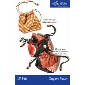 Indygo Junction IJ1146 Origami Pouch Sewing Pattern