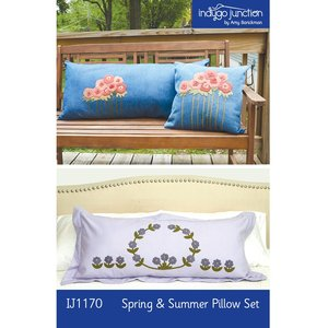 Indygo Junction IJ1170 Spring and Summer Pillow Set Sewing Pattern