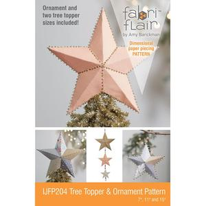 Indygo Junction IJFP204 Fabriflair Tree Topper and Ornament Pattern