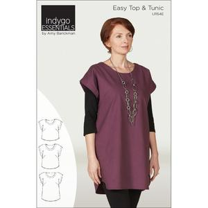 Indygo Junction IJ1154E Easy Top and Tunic Sewing Pattern