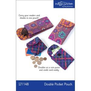 Indygo Junction IJ1148 Double Pocket Pouch Sewing Pattern