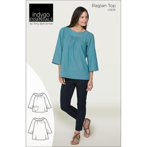 Indygo Junction IJ1167E Raglan Top Sewing Pattern