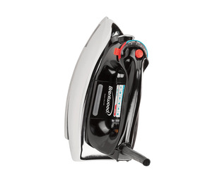 Brentwood MPI-70 Iron with Dry & Steam Settings, Polished Soleplate, 1100W