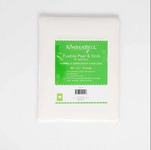 """Kimberbell KDST128 Fusible Stabilizer—25 ct. 8.5"""" x 11"""" Precut Sheets"""