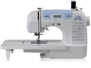 Brother, Brother CS7000i , cs7000i, xr7700, xr-7700, CS-6000i, CS6000, CS-6000, EX660, HS2000, HS2000PRW, hs2500, cs6000i, sew advanced, sew affordable, 60/ 100 Stitches, Computer LCD, Sewing Machine, 10 Pounds, Extension Table, 7 x 1-Step BH's, 7mm Zigzag, Threader, Cutter (Ex660, HS2000)
