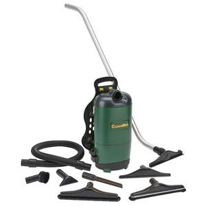 CleanMax CMBP-6.2 Backpack Vacuum, 6 Quart