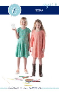 Children's Corner Nora CC289S CC289L Sewing Pattern Size 18m-6 and 7-14