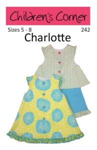 Children's Corner CC242 Charlotte Sewing Pattern Size 5-8