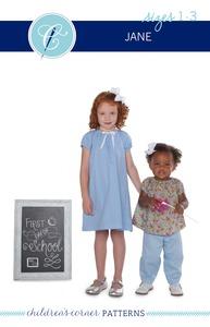 Children's Corner CC283S Jane Sewing Pattern Sizes 18m-3