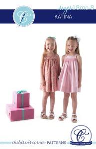 Children's Corner CC006 Katina Sewing Pattern Sizes 18m-8