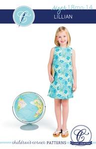 Children's Corner CC230 Lillian Sewing Pattern Sizes 18m-14