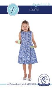 Children's Corner CC077 Louise Sewing Pattern Sizes 6m-8