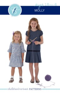 Children's Corner CC296S CC298L Molly Sewing Pattern Sizes 18m-6 and 7-14