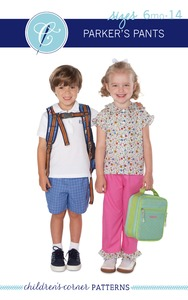 Children's Corner CC285 Parker's Pants Sewing Pattern Sizes 6m-14