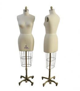 PGMPlus 602 Industry Pro Ladies Womens Female Professional Dress Form Mannequin without Hip, Collapsible Shoulder, Sizes: 4, 5, 6, 7, 8, 9, 10, 12