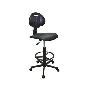 Consew CH-K15 Swivel Sewing Chair, Quality Integral Foam Higher Air Lift and Footrest