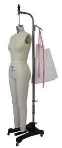 PGM Pro 605A Womens Ladies Professional Head to Toe Full Body Dress Form & Stand
