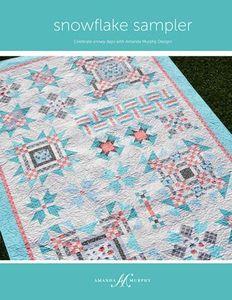 Amanda Murphy Designs AMD108 Snowflake Sampler Quilt Pattern