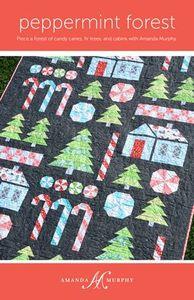 Amanda Murphy Designs AMD107 Peppermint Forest Quilt Pattern