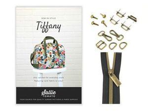 Sallie Tomato STPOM10 Tiffany Satchel Bag Pattern and Kit