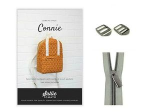 Sallie Tomato STPOM11 Connie Backpack Pattern and Kit