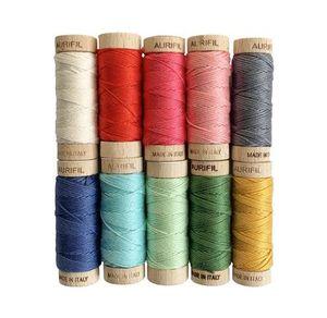 Aurifil BM30CV10 Beverly McCullough Colorful Vintage Thread Set