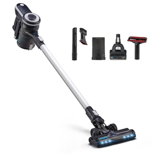 Simplicity S65D, Cordless Multi-Use Upright Stick HEPA Vacuum Cleaner, 2 Speeds, 5Lbs, can run for up to 25 minutes at a time