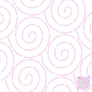 """Sew Steady DM Quilting Coil Template 5""""x5"""""""