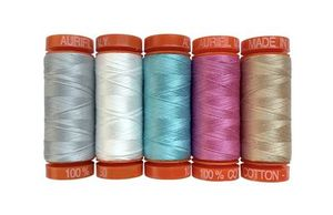 Aurifil SA50JIQ5 Sarah Ashford Jump into Quilting Thread Set