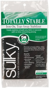 """Sulky, 661-01, Totally, Stable, Iron, On, Tear, Away, Stabilizer, 20"""", 1, Yard"""