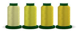 Exquisite, DIME, TQUY04, Useful Yellows, Thread Quartet, 40 wt, 1000m