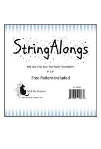 Black Cat Creations BCC222 StringAlongs Foundation Paper