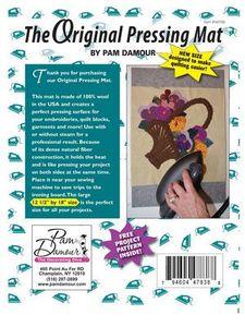 "Decorating Diva NOT90, Original Wool Ironing & Pressing Mat 12.5x18"""