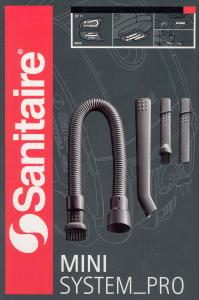 Sanitaire System Pro SP11 Mini Vac Attachment Tools, Nozzles & Brushes