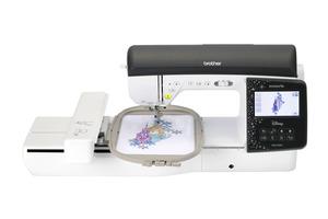 Brother Disney Innov-ís NQ3700D 291 Stitch Sewing +313 Designs 55 Disney Embroidery Machine & Wireless