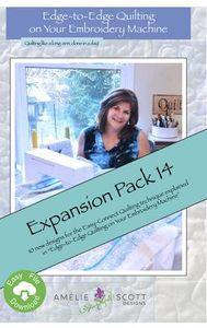 Amelie Scott Designs ASD265 Edge-To-Edge Jumbo Pack 14