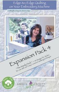 Amelie Scott Designs ASD212 Edge to Edge Expansion Pack 4