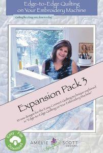 Amelie Scott Designs ASD210 Edge to Edge Expansion Pack 3