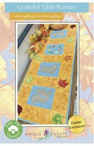 Amelie Scott Designs ASD245 Grateful Table Runner