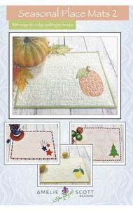 Amelie Scott Designs ASD237 Seasonal Place Mats 2