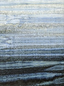 Batik Textiles 0241 Gray Black Ombre Stone Cold Rock Winter Stripes Batik