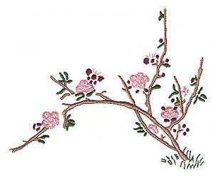 Amazing Designs BMC AZ1 Anna Zapp Jumbo Asian Art  Card For Brother,  Babylock,
