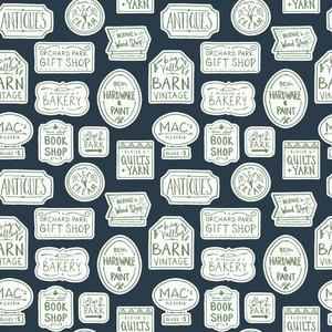 Clothworks CLTY3416-53 Raised Treasure Hunting TossDesigner: Sara Curtis