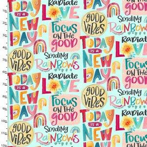 3 Wishes Good Vibes 18663-WHT White