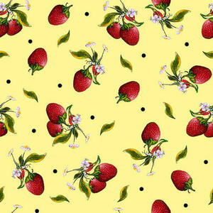Blank Quilting Fruit For Thought 1887-44 Yellow